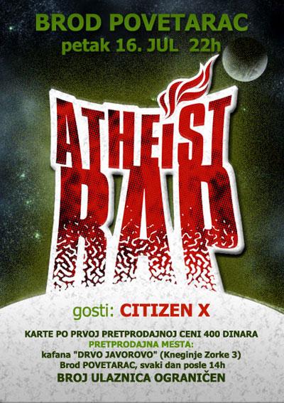 Atheist Rap - Povetarac