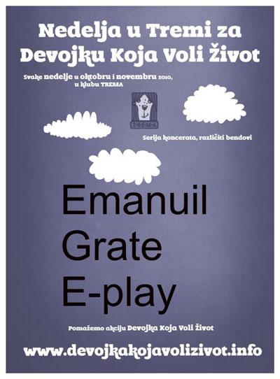 Devojka koja voli život - Emanuil, Grate & E-Play