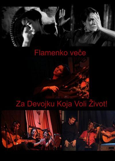 Flamenko veče - Devojka Koja Voli Život
