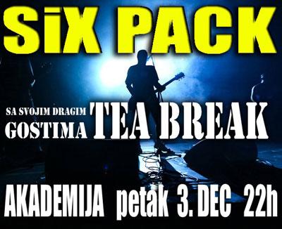 Six Pack @ Akademija