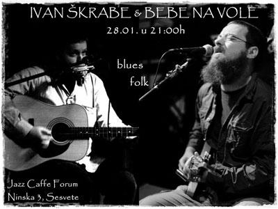 Bebe Na Vole & Ivan Škrabe @ Jazz Caffe Forum, Sesvete (Hrv)