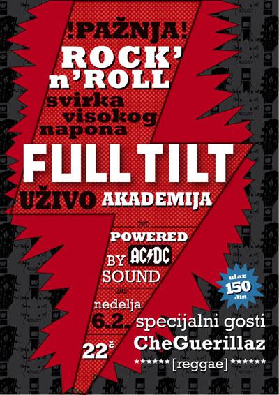Full Tilt @ Klub Akademija