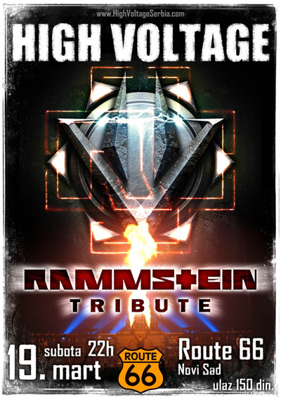 Rammstein tribute @ Route 66