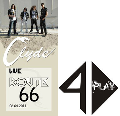 Clyde & 4Play @ Route66, Novi Sad