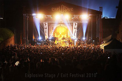 Exit Festival - Explosive stage