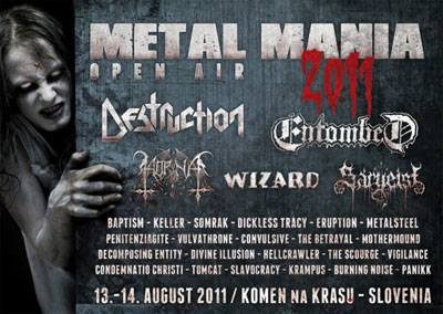 Metal Mania Open Air 2011