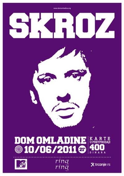 Skroz @ Dom omladine, Beograd
