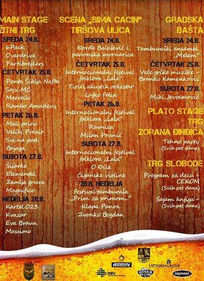 Dani piva 2011, Zrenjanin (Beer Fest 2011, Zrenjanin)