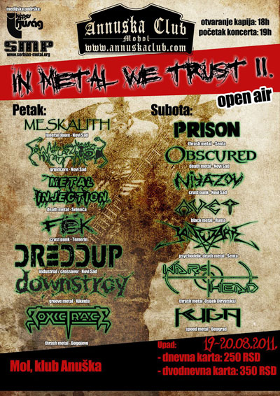 In Metal We Trust II