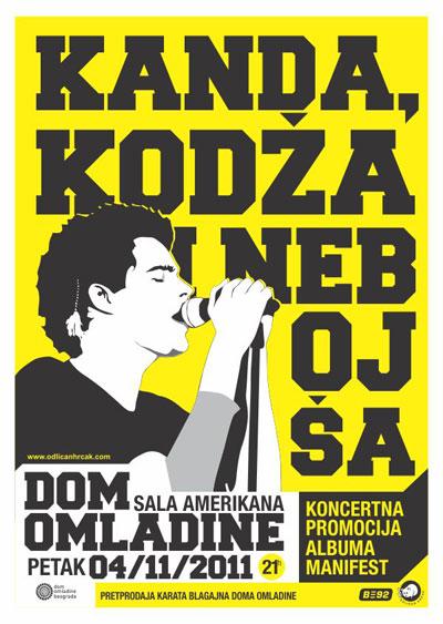 Kanda, Kodža i Nebojša @ Dom omladine, Beograd