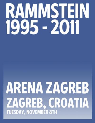 Rammstein @ Arena, Zagreb