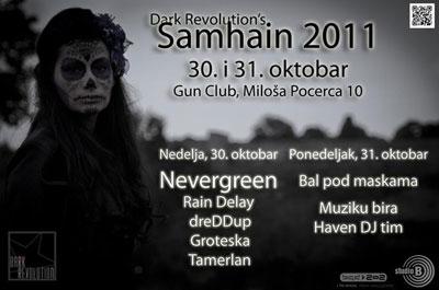 Samhain 2011 @ Gun club, Beograd
