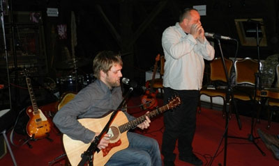 Tomi Novak i Krešo Oremuš @ 1st Hawk City Acoustic Night