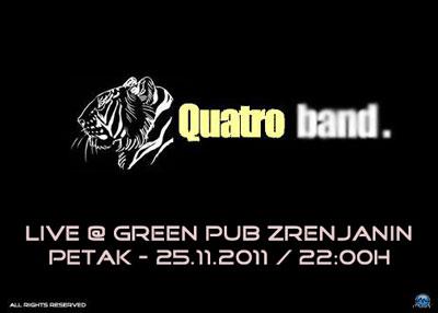 Quatro bend @ Green pub, Zrenjanin