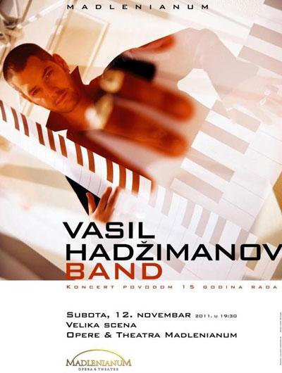 Vasil Hadžimanov bend @ Madlenianum