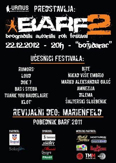 Beogradski Autorski Rok Festival (BARF)