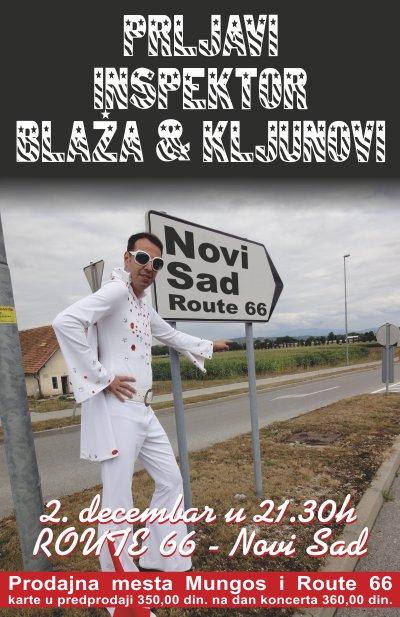 Prljavi Inspektor Blaža i Kljunovi @ Route 66, Novi Sad