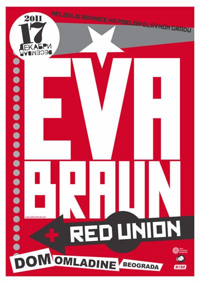 Eva Braun @ Dom Omladine, Beograd