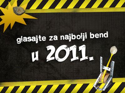 Gruvanje - glasajte za najbolji bend u 2011.