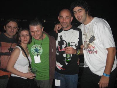 Deo ekipe sajta sa legendama @ Koncert godine 2011 @ Spens, Novi Sad