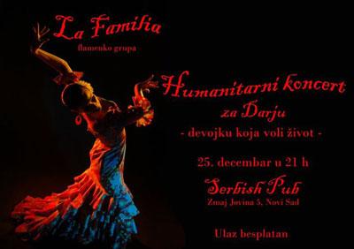 La Familia (Devojka koja voli život) @ Serbiš pab, Novi Sad