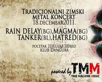 Metal koncert @ Klub Danguba, Beograd