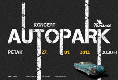 Autopark @ UK Parobrod, Beograd