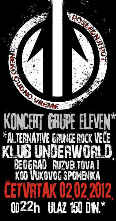 Eleven @ Klub Underworld, Beograd