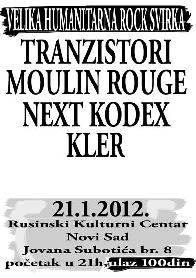 Humanitarna svirka @ Rusinski kulturni centar, Novi Sad