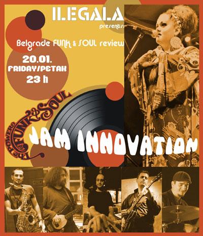 Jam Innovation @ Klub Ilegala, Beograd