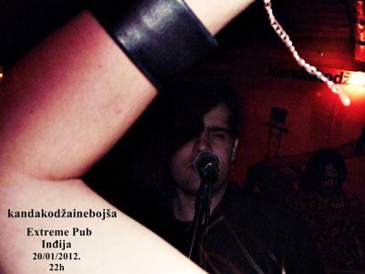 Kanda, Kodža i Nebojša @ Extreme Pub, Inđija