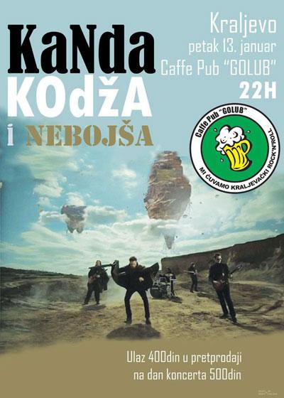 Kanda, Kodža i Nebojša @ Caffe Pub Golub (plažni bar), Kraljevo