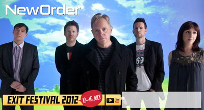 New Order @ EXIT Festival 2012