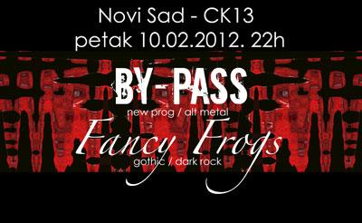 By-Pass i Fancy Frogs @ CK13, Novi Sad