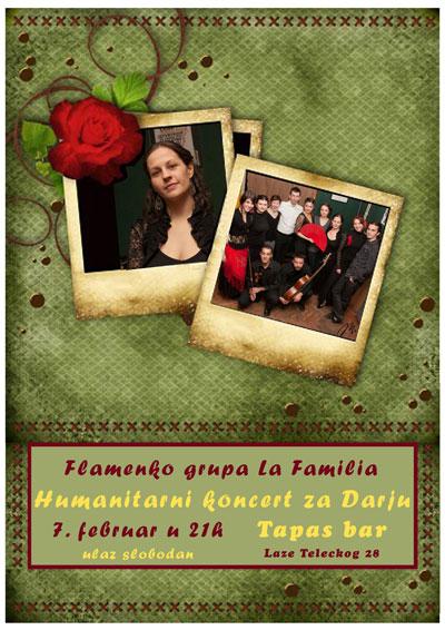 Humanitarni koncert za Darju @ Tapas bar, Novi Sad