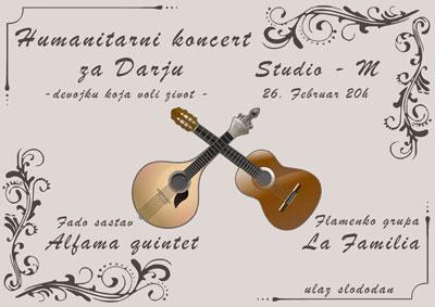Devojka Koja Voli Život @ Studio M, Novi Sad