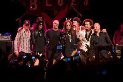 Ozzy Osbourne and friends
