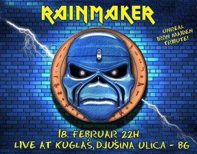Rainmaker @ Klub Kuglaš, Beograd