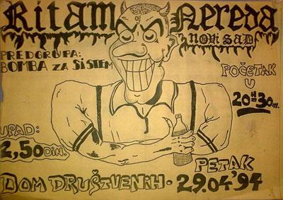 Ritam Nereda - plakat iz 1994. godine