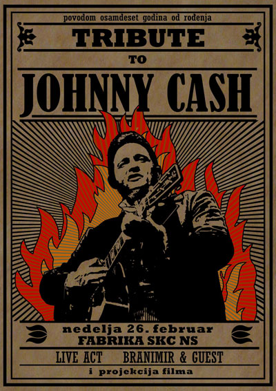 Tribute to Johnny Cash @ Fabrika, Novi Sad