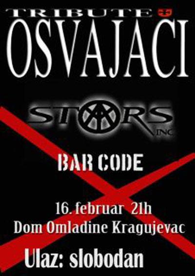 Tribute to Osvajači @ Dom omladine, Kragujevac