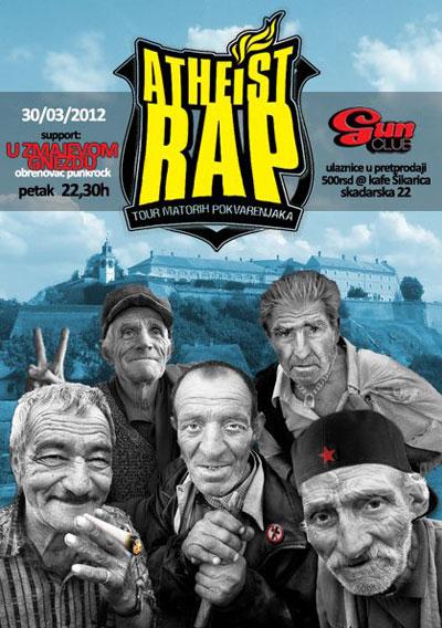 Atheist Rap @ Gun Club, Beograd