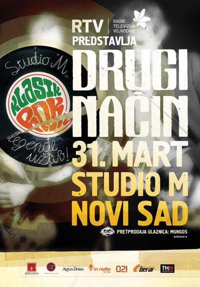 Drugi način @ Studio M, Novi Sad