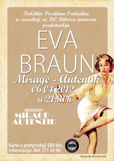 Eva Braun @ Mirage Autentik, Kraljevo