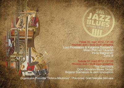 Jazz Blues festival @ Pozorište Dobrica Milutinović, Sremska Mitrovica