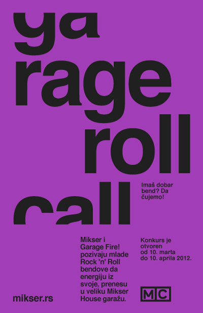 Mikser - Garage Roll Call