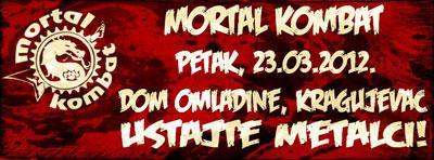 Mortal Kombat @ Dom omladine, Kragujevac