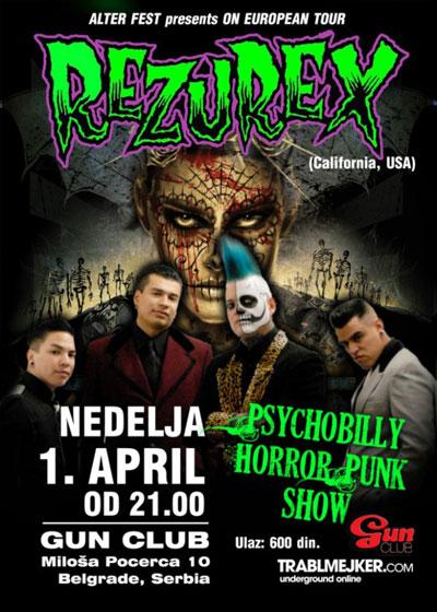 Rezurex @ Gun Club, Beograd