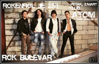 Rok Bulevar @ Klub Atom, Beograd