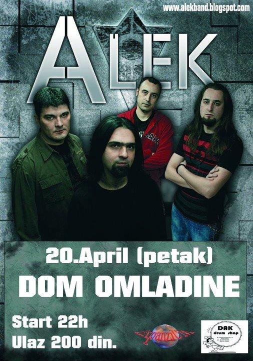 Alek @ Dom omladine, Kragujevac
